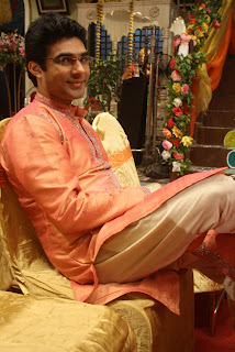 Mazher Sayed on the sets of Endemol's Chajje Chajje Ka Pyaar on Sony Entertainemnt Television