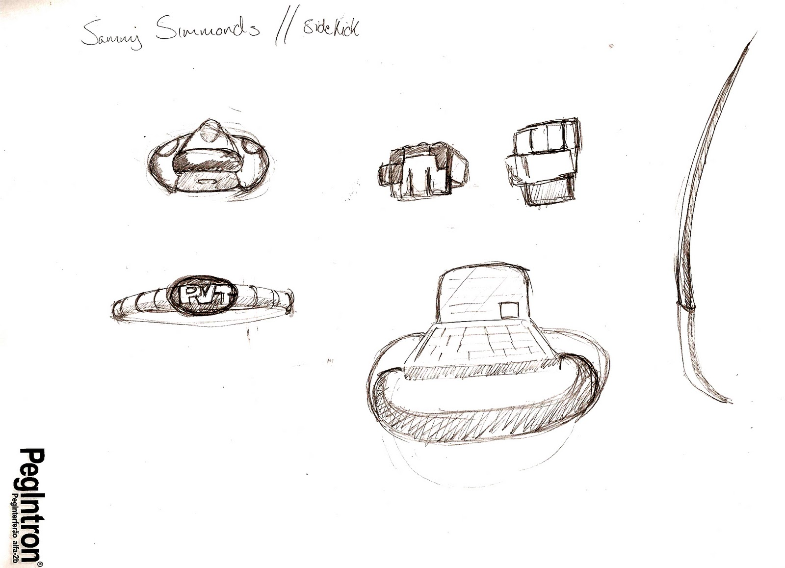 Character Design Session : Sharples designs marine teens props