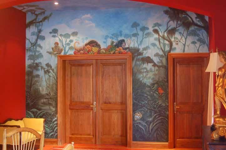 Punta del este- mural - ( pigmentos )