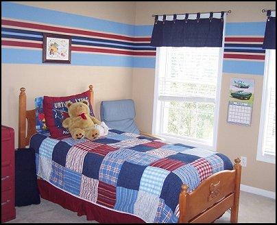 Decorating theme bedrooms maries manor patriotic stars for Americana bedroom ideas