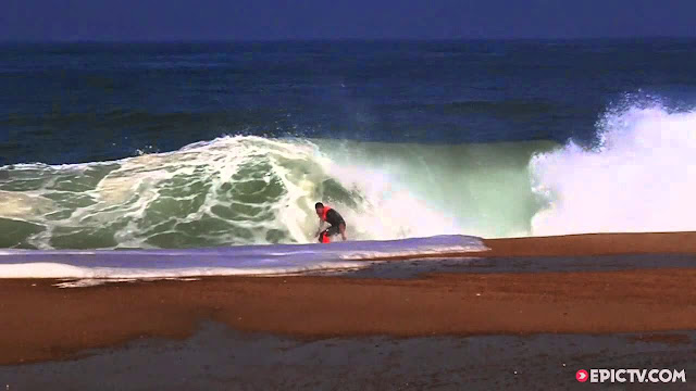Surfing Shorebreak Tubes With John John Florence And Co Quiksilver Pro France 2014 Free Surf