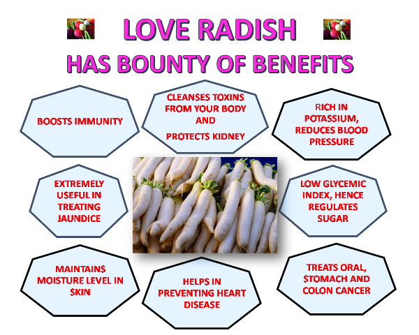 Why you should love radish?