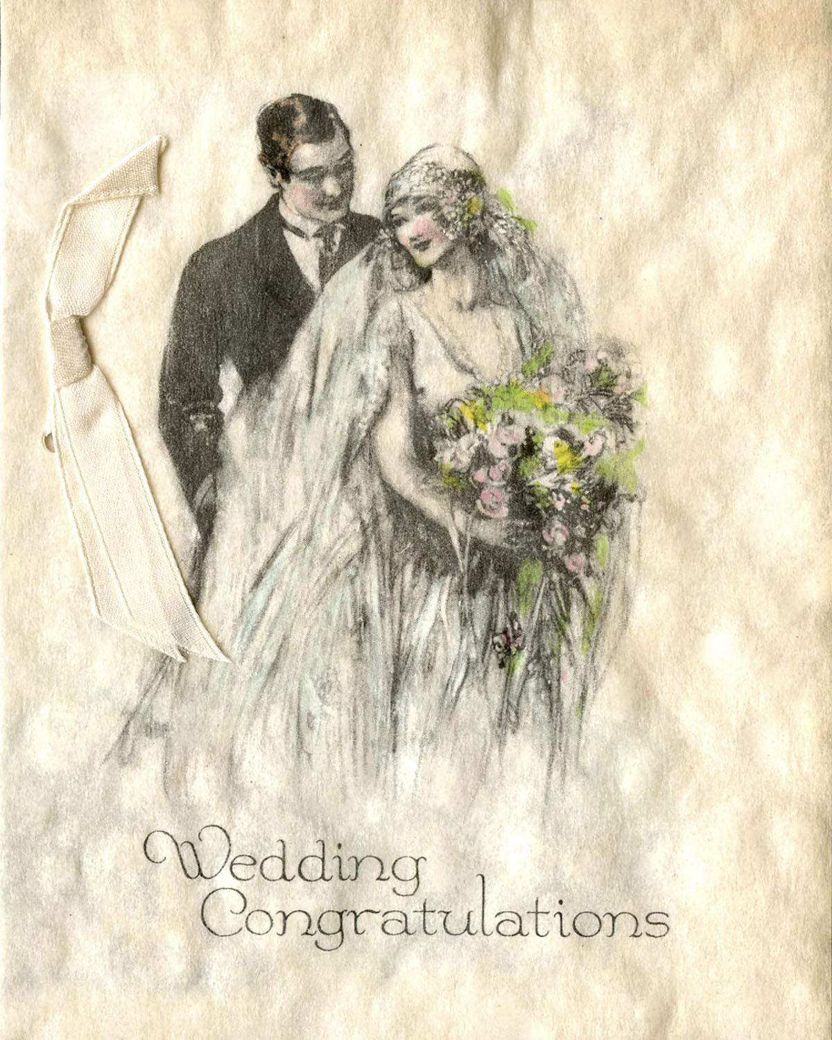 How to scrapbook wedding cards - But In Honor Of The Wonderful Institution Of Marriage I Present A Few Of The Wedding Greetings For The New Mr And Mrs James Ingle