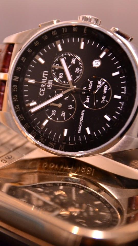 Luxury Wristwatch Cerruti  Galaxy Note HD Wallpaper