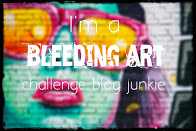 Bleeding Art Mixed Media Blog