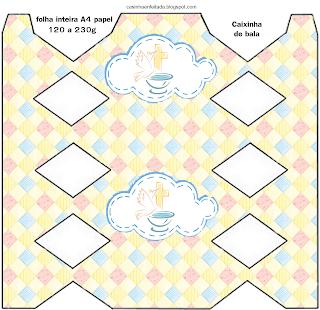 kit Festa Batizado Menina Para Imprimir Grátis