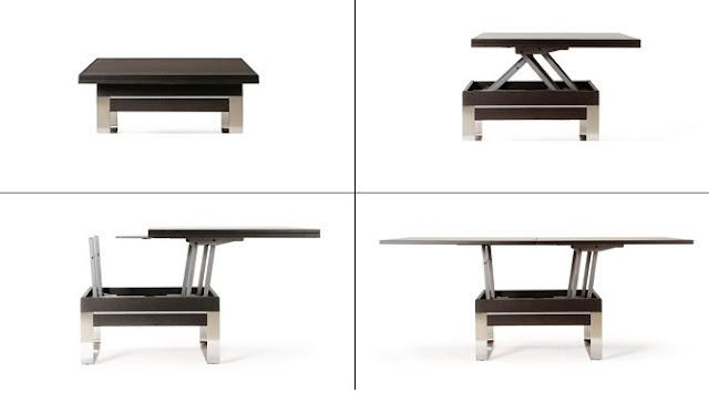 Ideas para amueblar un peque o apartamento mobles for Silla que se convierte en mesa