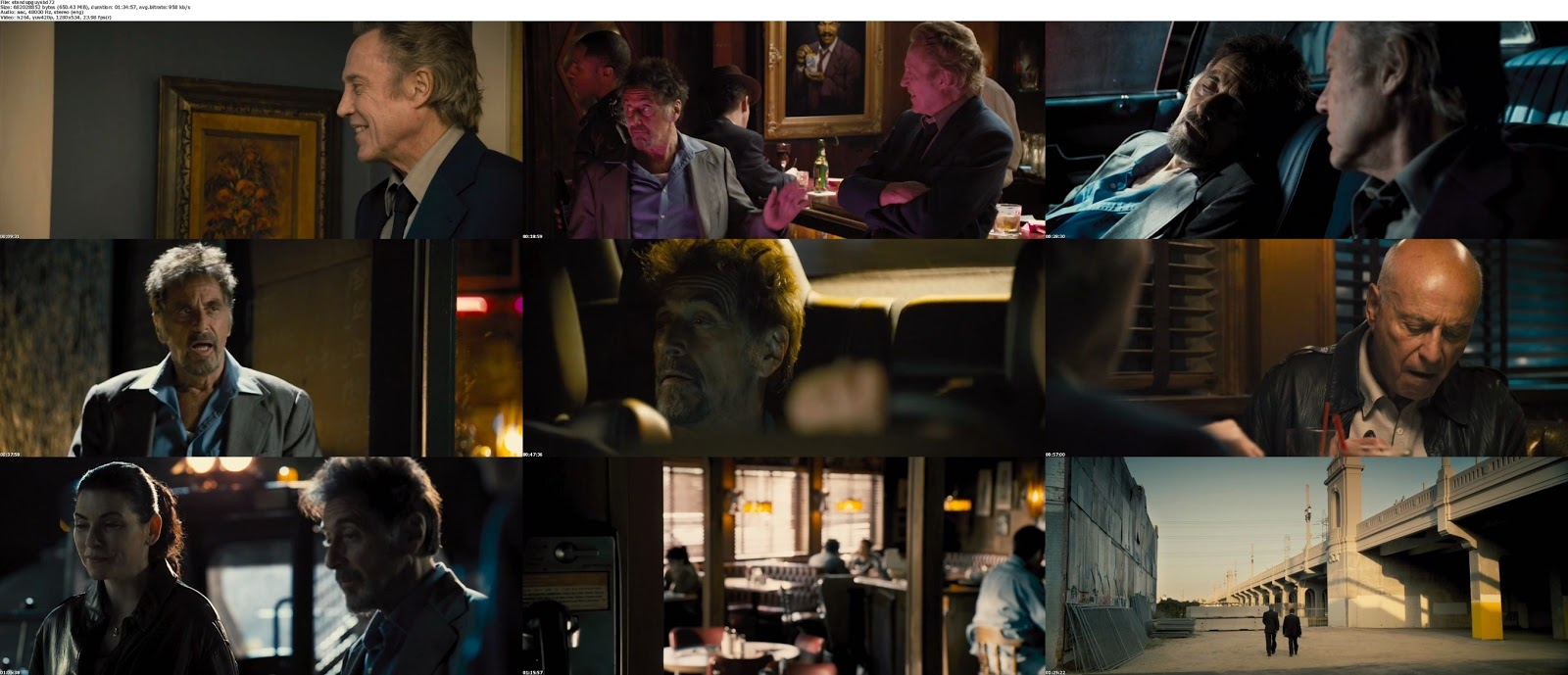 movie screenshot of Stand Up Guys fdmovie.com