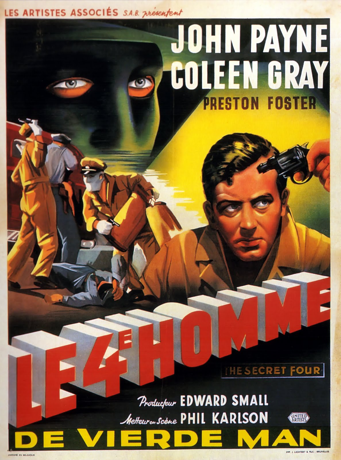 The Cathode Ray Mission: Hump Day Posters: Film Noir
