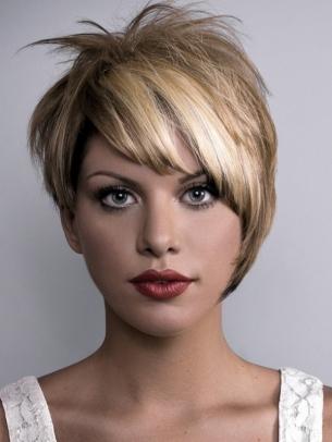 Peinados Y Cortes De Hoy Pelo Corto Para Adolescentes Con Flequillo