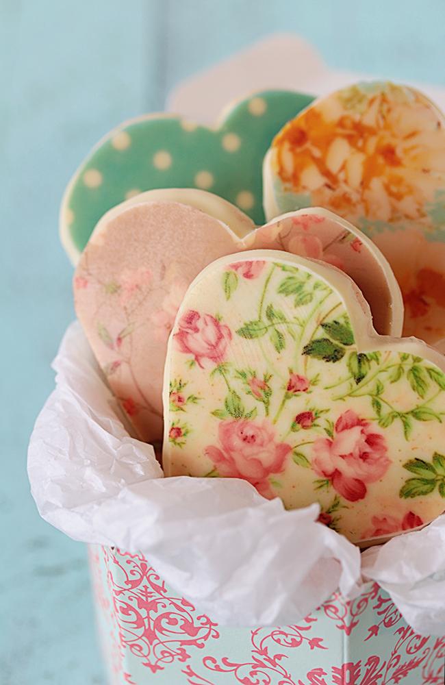 galletas con chocotransfer