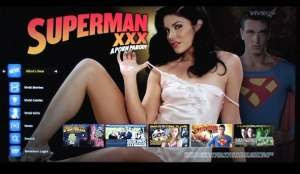 Superman XXX di Google TV