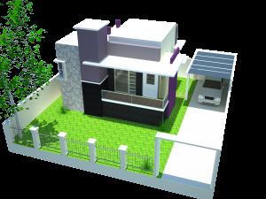 gambar desain rumah minimalis modern 1 lantai keren