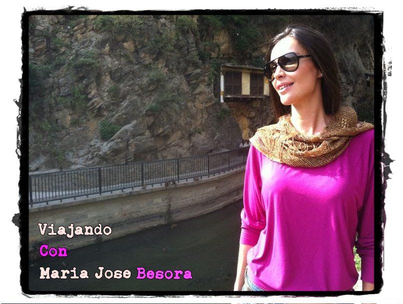 Viajando con Maria Jose Besora
