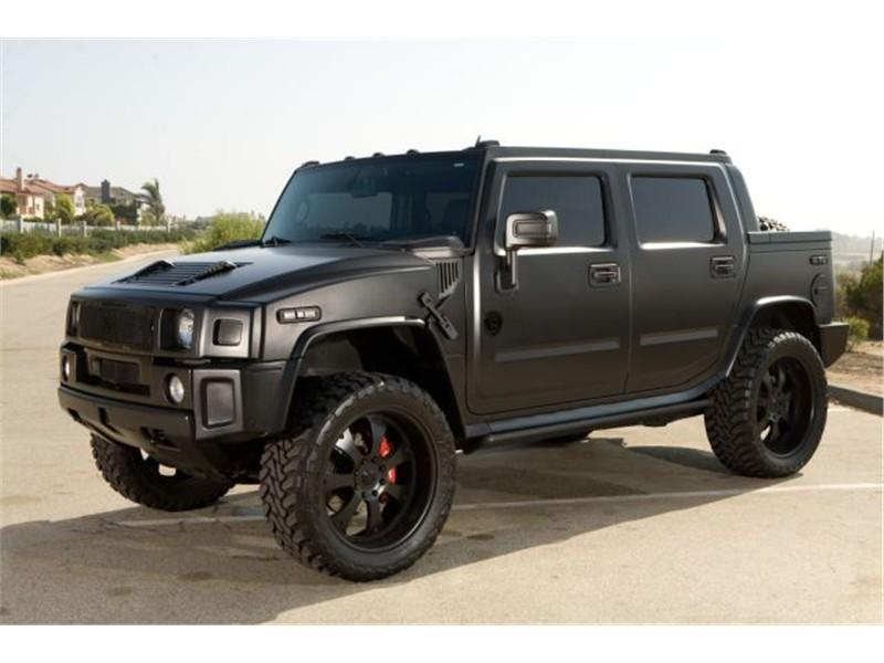 black hummer h2 cars - photo #33