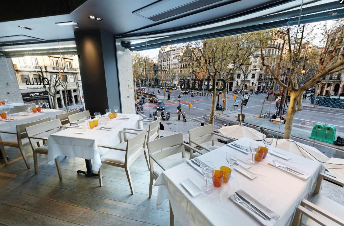 Salimos un rato te apuntas blog de ocio de javier y alejandra restaurant citrus - Restaurante attic barcelona ...