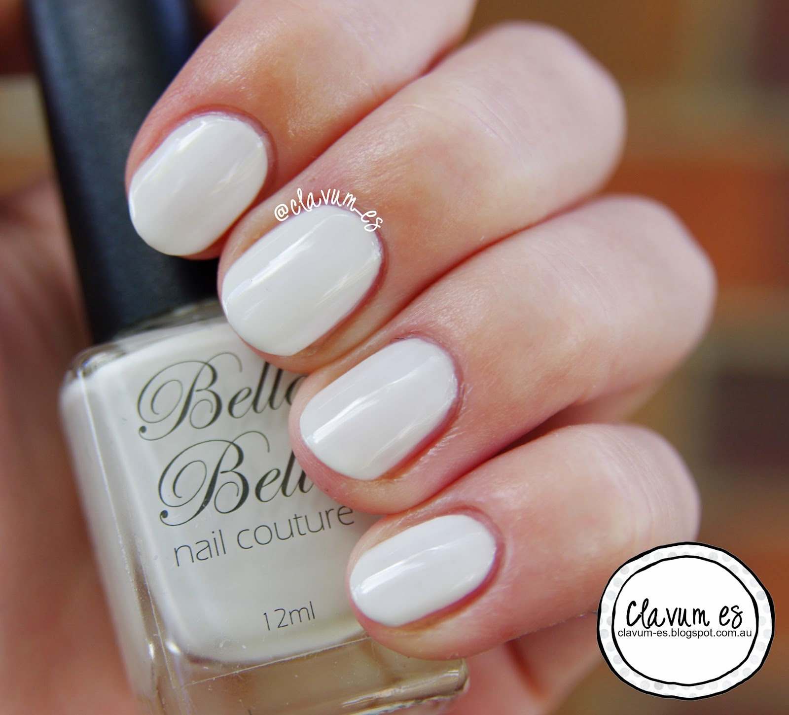 Bella Belle Nail Couture Snow Swatch