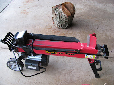 electric wood splitter
