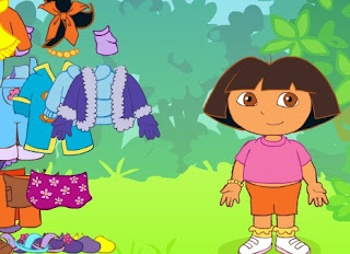 Permainan Berpakaian Dora The Explorer