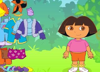 Permainan Berpakaian Dora The Explorer