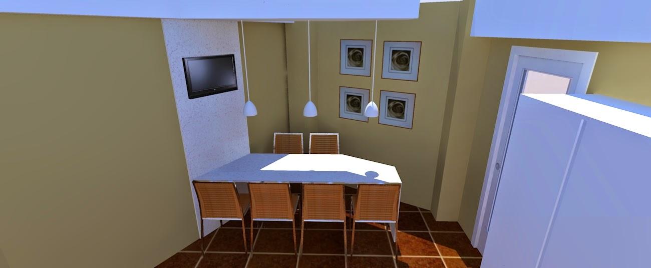 """Los hogares que habitamos: proyecto renderizado: """"cocina de mamá ..."""