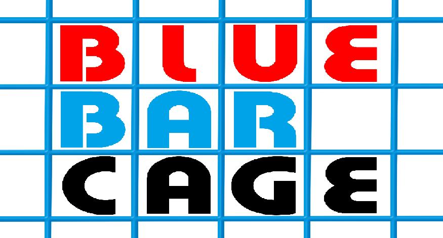 Blue Bar Cage