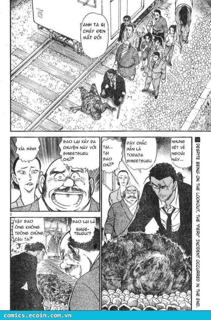 Detective Conan - Thám Tử Lừng Danh Conan chap 617 page 2 - IZTruyenTranh.com