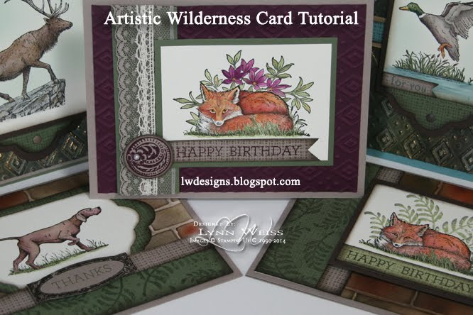 Artistic Wilderness Card Tutorial