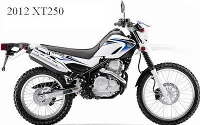 2012 Yamaha XT250 beginner dual purpose