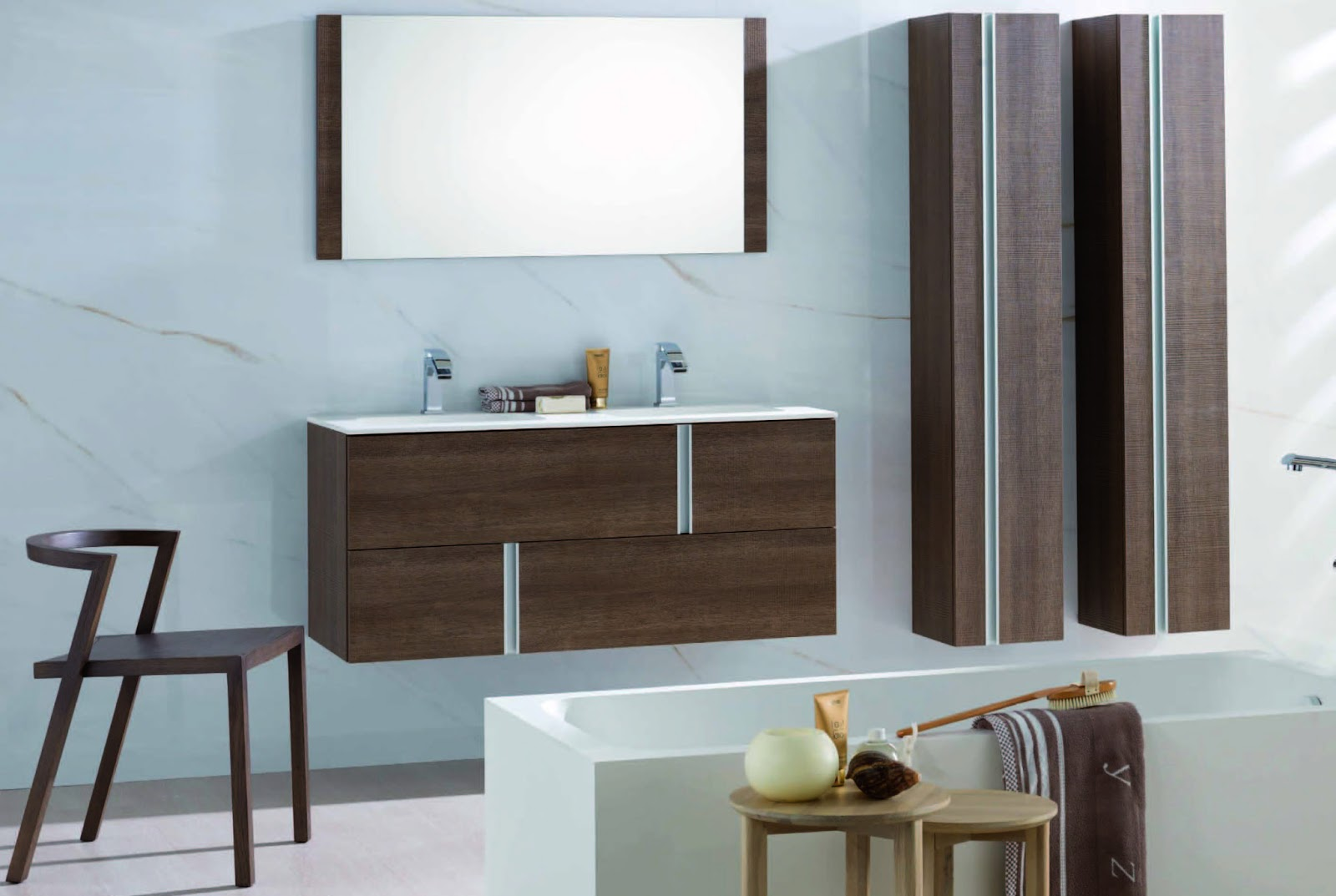 Porcelanosa International Febrero - Porcelanosa bathroom accessories