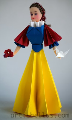Origami Toys: Snow White Doll