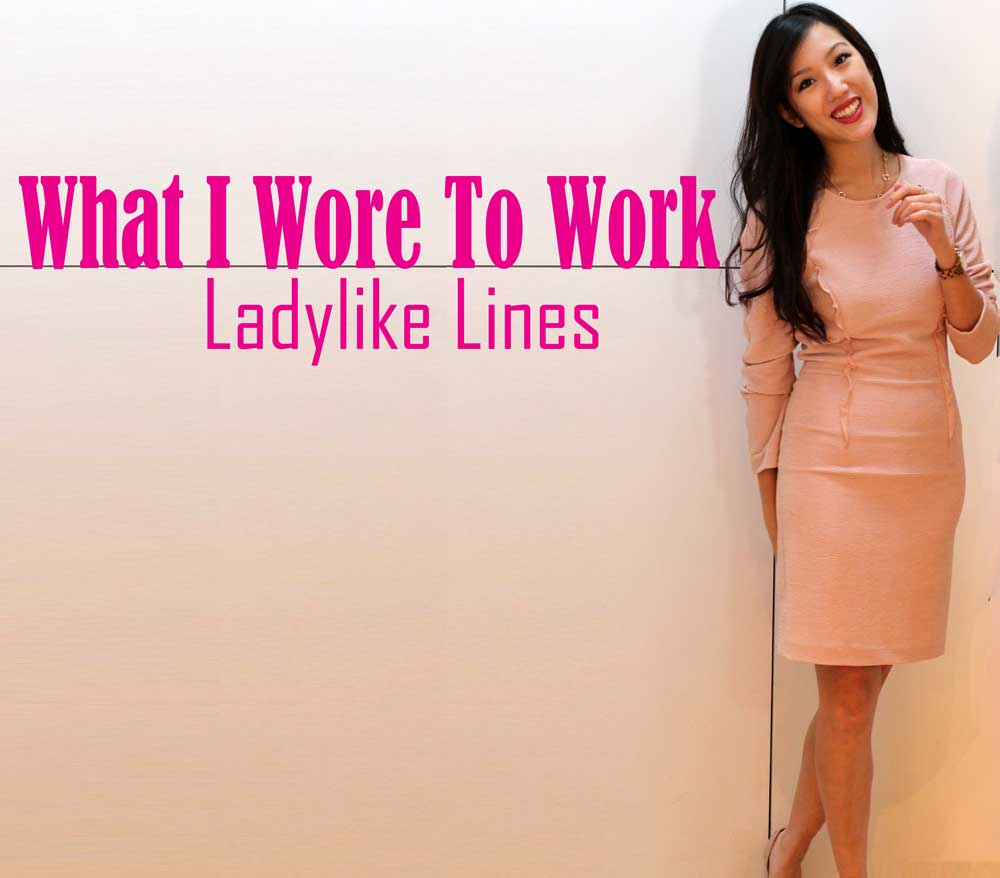 What I Wore To Work - Ladylike Lines with REISS & Michael Kors
