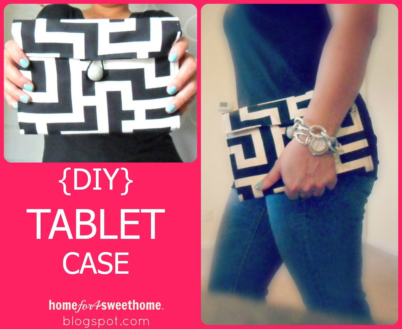 ... over at Consider Me Inspired sharing my {DIY} Tablet Case tutorial