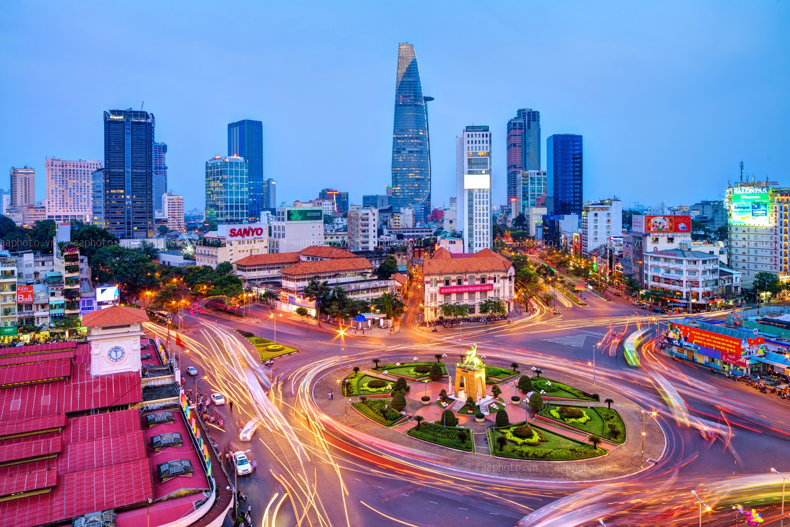 Ho Chi Minh City Vietnam  city photo : Ho Chi Minh City ongoing dynamic & enchanting | Vietnam Information ...
