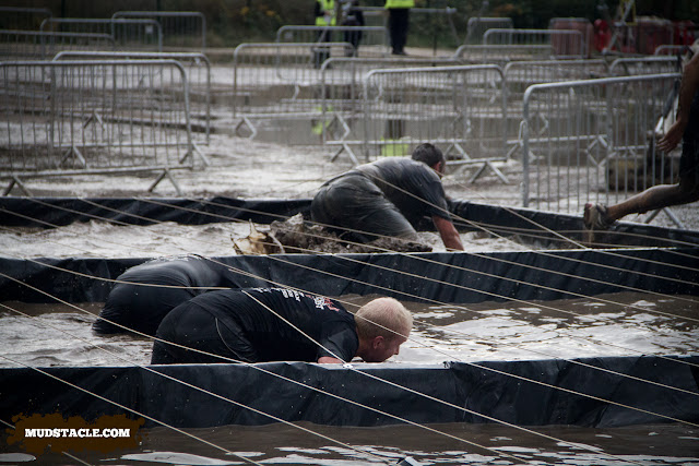 Crawling through mud at Survival of the Fittest