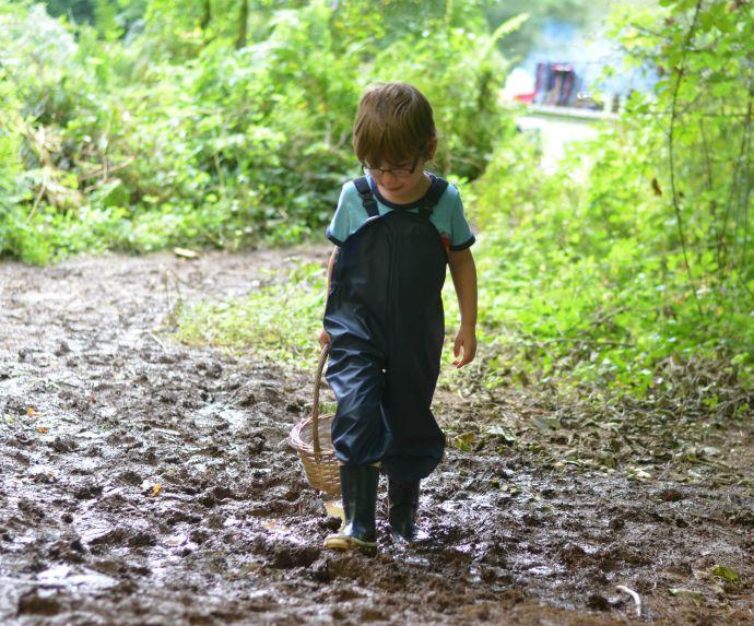 Helly Hansen, we love rain, forest school
