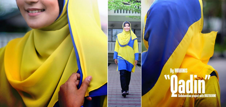 fesyen muslimah untuk peminat bolasepak