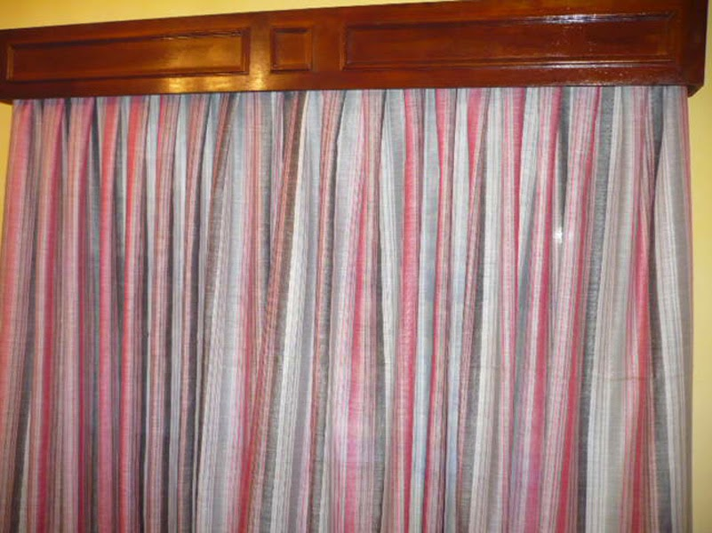 Como hacer una caja de cortinas con madera reciclada y reutilizada