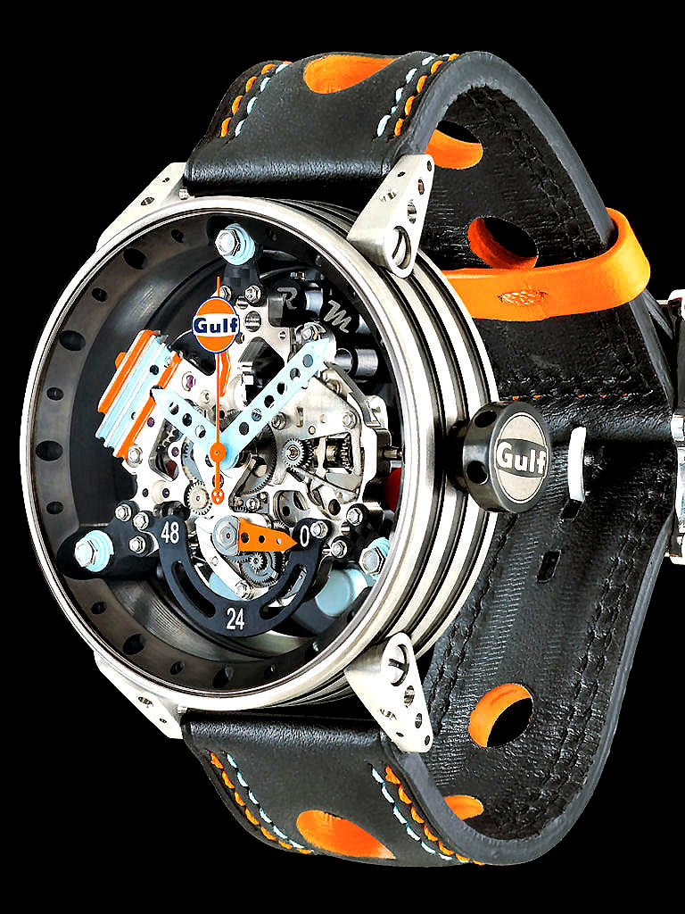 bell auto chronograph baselworld from watches monochrome car inspired ross racing
