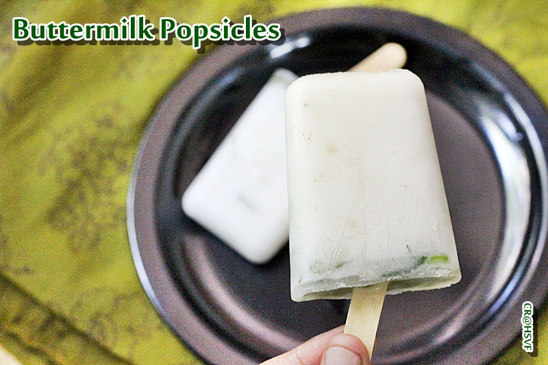 buttermilk popsicle