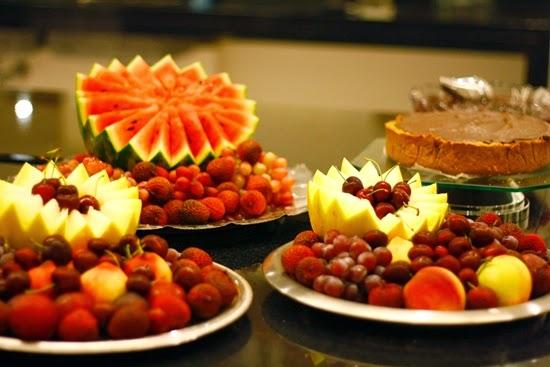 As frutas que combinam com o réveillon 2015 Lili Tudoblog com br # Decoraçao Com Frutas Para Ano Novo
