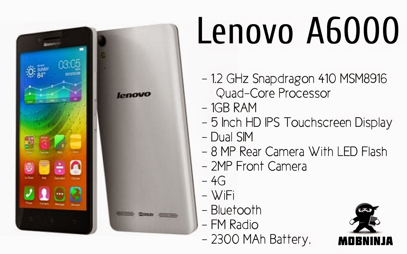 Mobo Ninja Lenovo A6000 Best For Its Price
