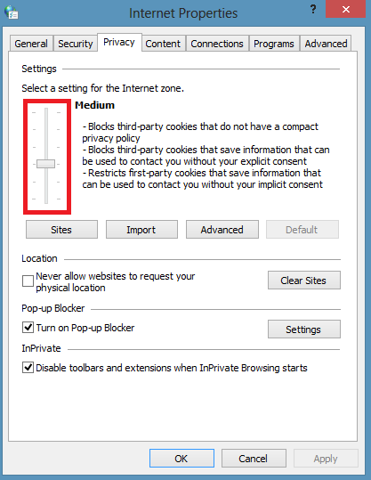 how to delete cookies on windows 10