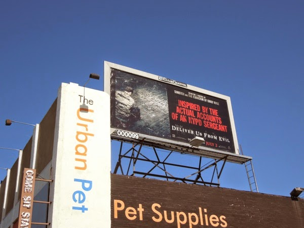Deliver Us From Evil billboard