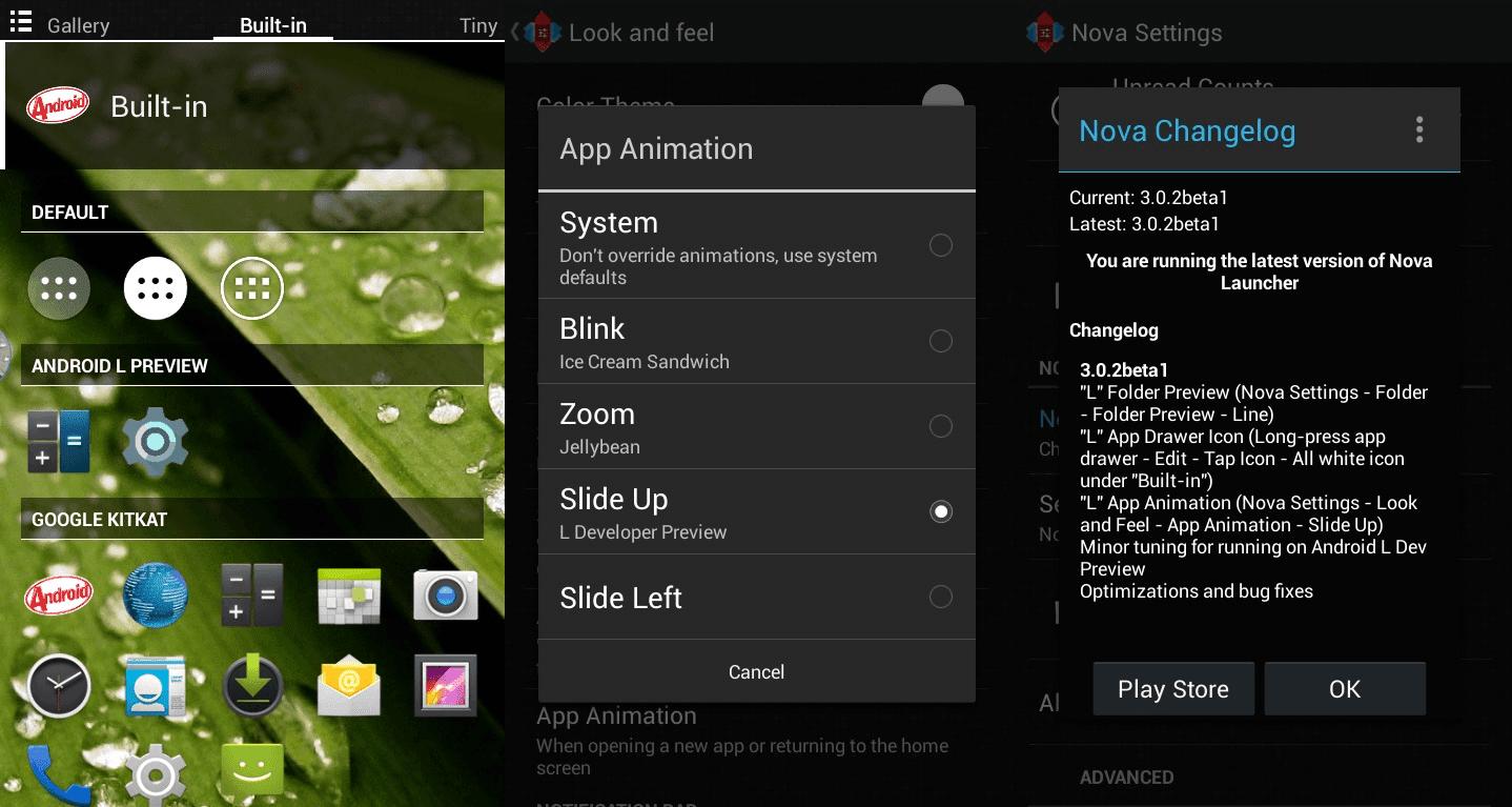 Nova launcher prime apk download latest version 1.1 for