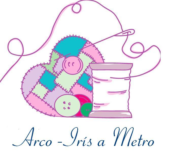 ******  Arco-Iris a Metro ******  Patchwork & Quilting em Portugal