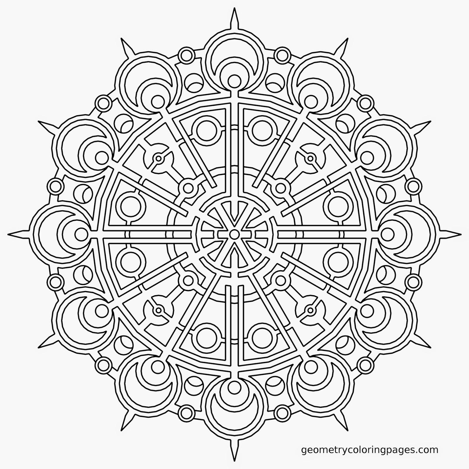 pinterest mandala coloring pages - photo#22