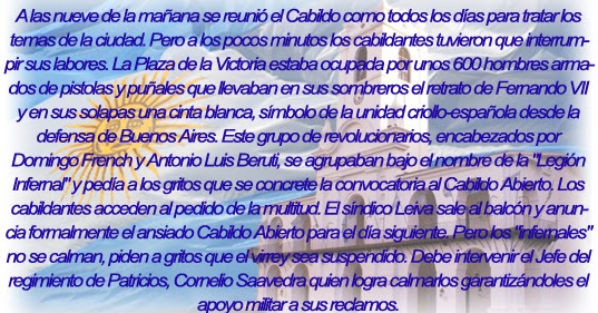 ... MARTHA ALCIRA SALOTTI Nº 1246: SÁBADO 19 AL LUNES 21 DE MAYO DE 1810