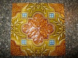 Majolica Tile - Craftsman Floral