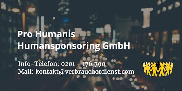 Pro Humanis Humansponsoring GmbH